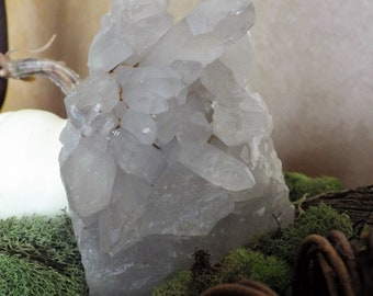 Quartz Crystal Cluster Medium - raw crystals and stones