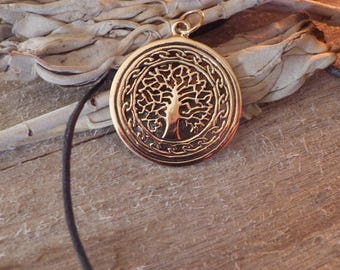 Yggdrasil Pendant  Tree of Life Pendant  Viking Jewelry