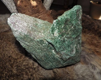 Natural Raw Fuchsite Energy Stone - Stone of Rejuvenation and Renewal