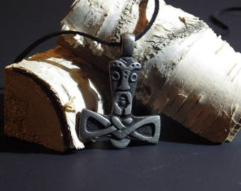 Stylized Thor's Hammer - Viking Jewelry