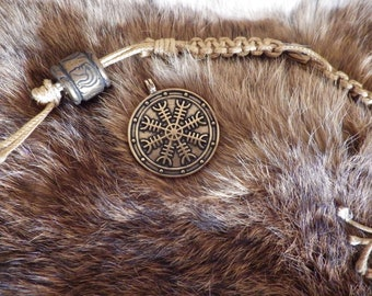 Aegishjalmur - Helm of Awe Pendant   Asatru Jewelry