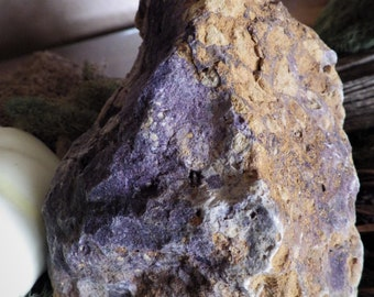 Large Raw Colorado Botryoidal Fluorite Natural Stone - energy stone meditation stone