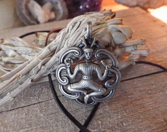 Cernunnos - the Horned God - Amulet  Celtic Jewelry