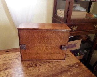 Antique Wood Box - National Cash Register Co.