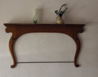 Repurposed Dresser Harp into coat/towel rack Home Decor