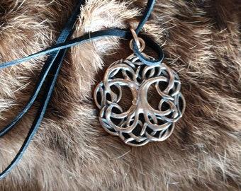 Bronze Yggdrasil - The Tree of Life Pendant -  Celtic Pendant ,Viking Jewelry