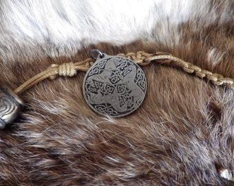 Goddess Epona Pendant  Celtic Amulet