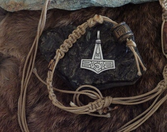 Gotland Silver Thor's Hammer -Viking Jewelry