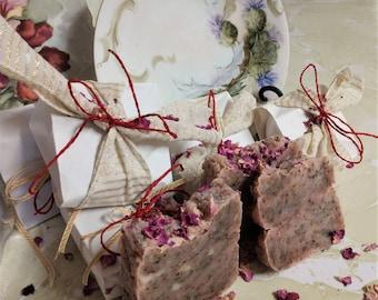 Handmade Absolute Rose Luxury Natural Organic Soap