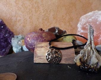 Bronze Odin and Sleipnir Pendant The Wild Hunt-   Viking Jewelry