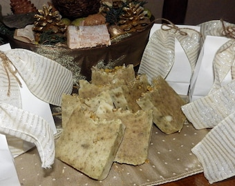 Chamomile Spice Luxury Natural Organic Soap  - Handmade