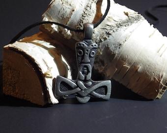 Stylized Thor's Hammer - Viking Jewelry