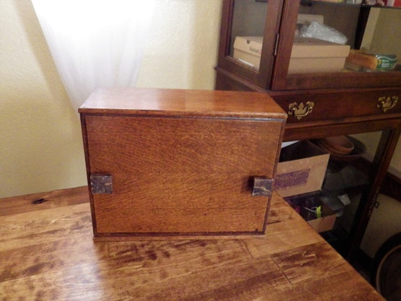 Antique Wood Box - National Cash Register Co.