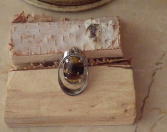 Raw Natural Tigers Eye Pendant - energy and meditation stones