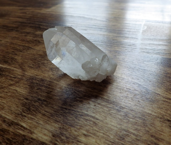 Quartz Crystal point with seed crystals