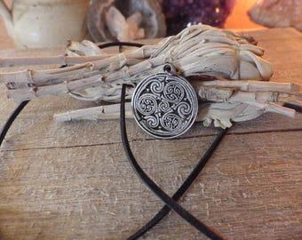 Celtic Never Ending Spiral Pendant  Celtic Jewelry