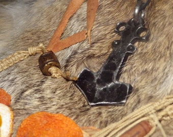 MÚSPELLHEIM, Thor's Hammer Pendant Asatru Jewelry