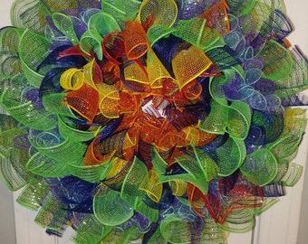 Skittles Wreath
