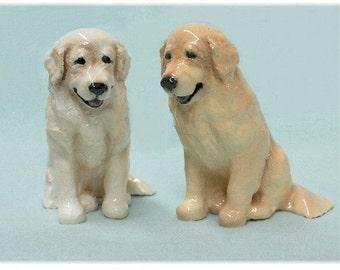 Golden Retriever Puppy Dog Figurine