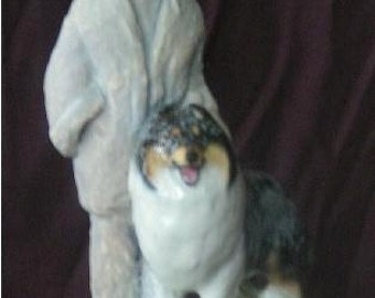 The Master's Touch ... Collie Figurine