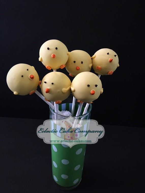 Baby Chick Cake Pops