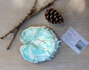 Coasters, ceramic coasters, hostess gift, blue leaf coaster, pottery coasters, wedding gift, leaves coasters, drink coasters, men gift,