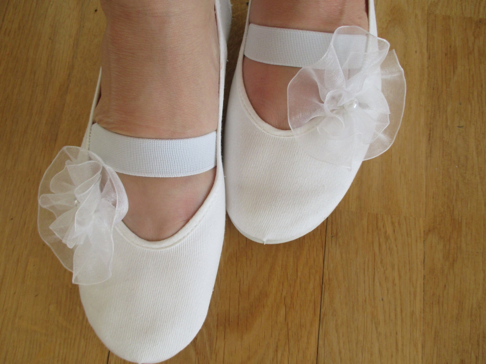 wedding shoes woman shoes girls shoes mary jane shoes white cotton shoes dance shoes wedding ballet flats, bridal shoes,summer d