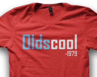 Personalized 40th Birthday Tshirt Gift For Men Customizable Oldscool 1979 Add Any Year