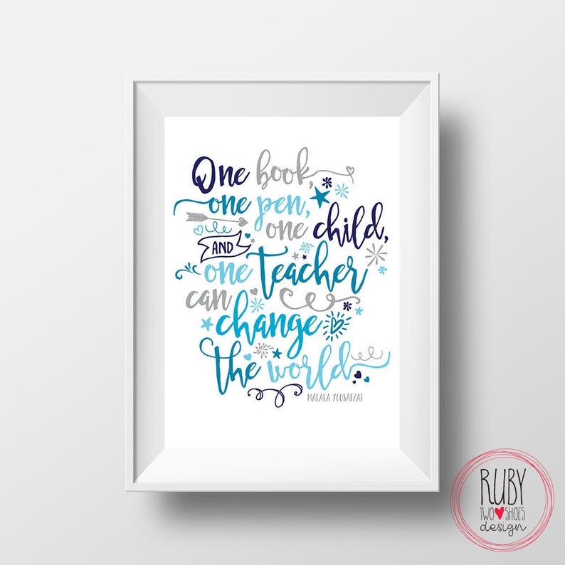 Teacher wall print, teacher quote print, wall print, wall art, teacher  print, teacher gift, teacher quote , education quote, school art