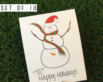 funny snowman card funny holiday card funny christmas card silly christmas card adult christmas card inappropriate holiday card