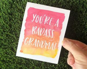 Funny Mothers Day Card For Grandma Nana Mimi Grandmother Birthday