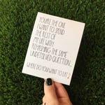 Funny Valentine Card - Funny Valentine's Day Card - Funny Relationship Card - Funny Valentine Card boyfriend - Funny Valentine Girlfriend