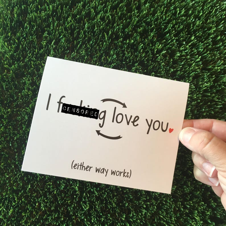 Funny Relationship Card  Funny Anniversary Card  Funny I image 0