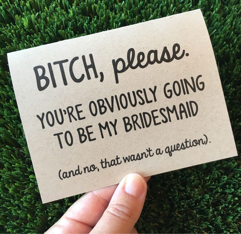 Will you be my Bridesmaid / Bridesmaid card / Bridal party image 0