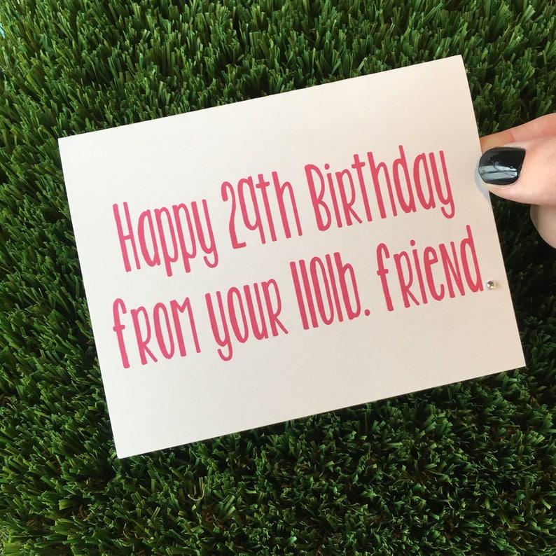 Funny Birthday Card Friend / Funny Bday Card / Birthday card image 0