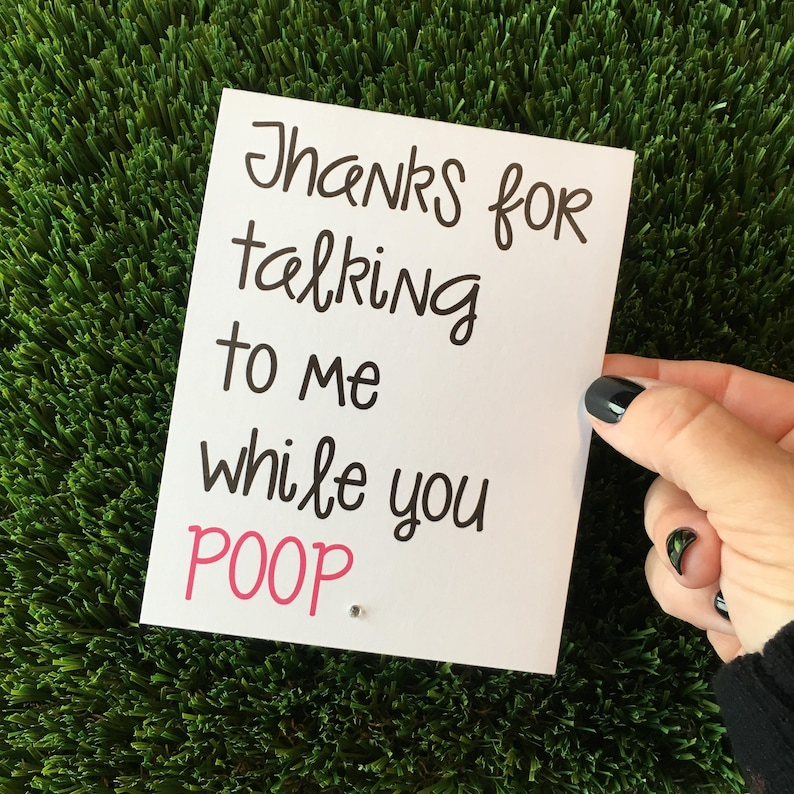 Funny Friendship Relationship Greeting Card for Best Friend image 0