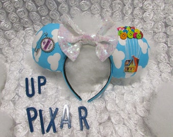 Up Inspired Mouse Ears / Headband