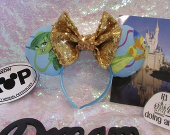 Inside Out Inspired Mouse Ears / Headband