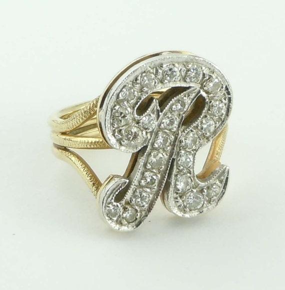 Custom Made 14Kt Yellow Gold Diamond
