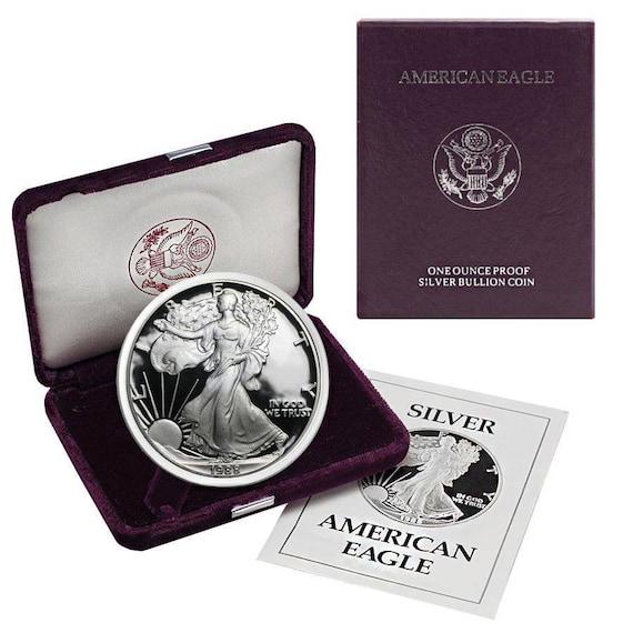 5-Coins 1985-S Proof Set NO COA. in US MINT Box