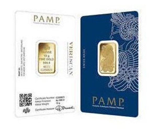 HARD CASE DESIGN PAMP FORTUNA CONTAINER BOX FOR 1 OZ GRAM GOLD BAR FITS 25