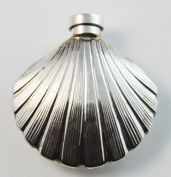 Sterling Silver Round Opening Perfume