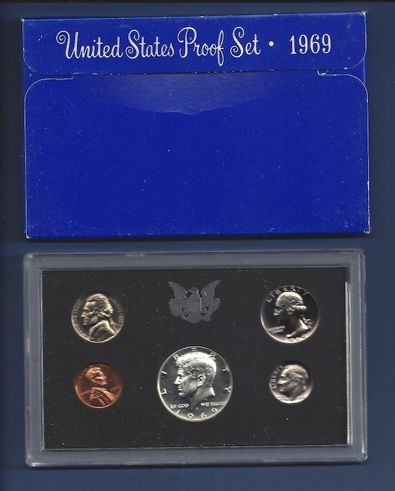 1984 S United States Clad Proof Set In  Original Mint Packaging
