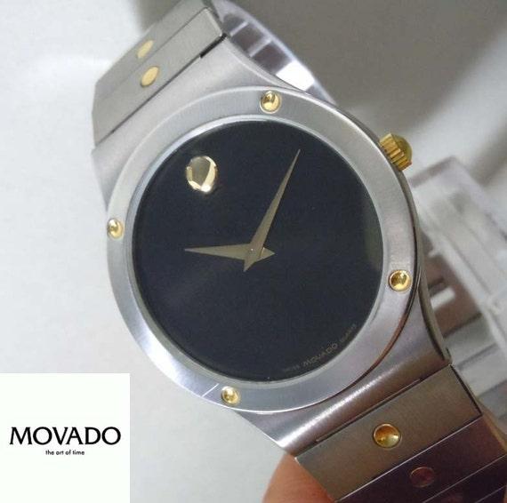 e9e3c99f1f17 Reloj de Movado para hombre 2 tono deportivo acero inoxidable