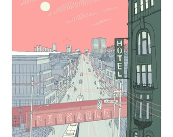 Parkdale, Toronto, first edition giclee print