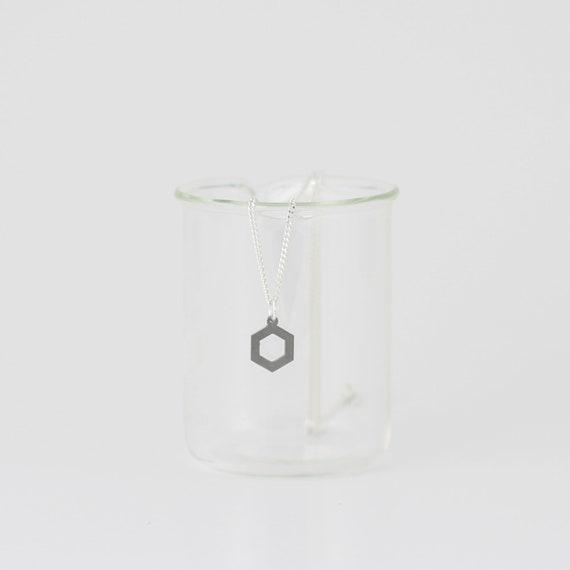 Handgemachte Benzol Molekül Halskette Chemie Nerdy Geschenke Für Sie