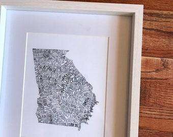 Georgia   Unframed Print