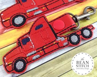 Machine Embroidery Design Download. Semi - TWO sizes INCLUDED! BONUS 5x7 Multis!!!