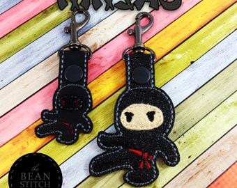 Ninjas - Two Sizes and BONUS Multis!  Embroidery Machine Download Design File