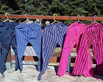 Funky Pants (South American style) Ecuador Peruvian Pants! Hippie pants Boho pants Festival Pants